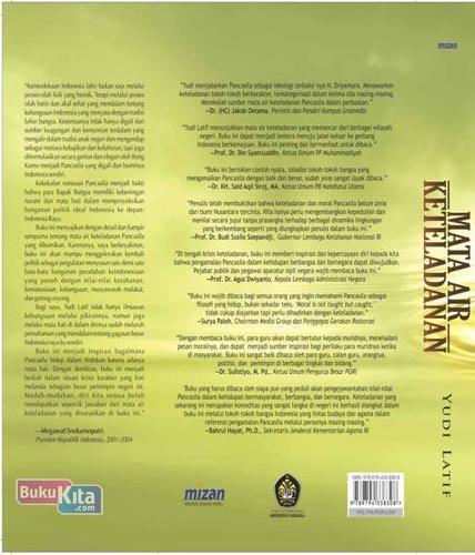 Cover Belakang Buku Mata Air Keteladanan