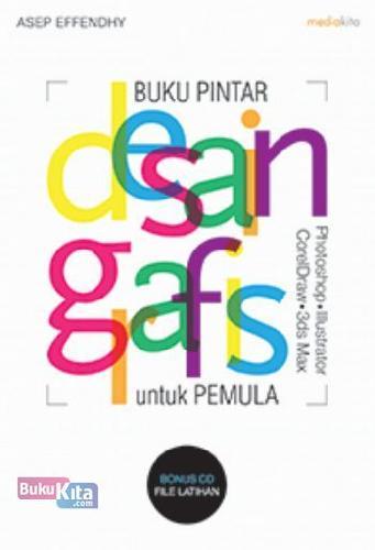 Cover Buku Buku Pintar Desain Grafis untuk Pemula
