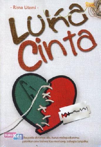 Cover Buku Luka Cinta