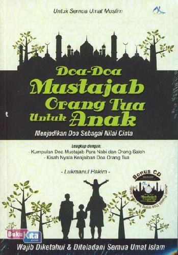 Cover Buku Doa-Doa Mustajab Orang Tua Untuk Anak (CD)