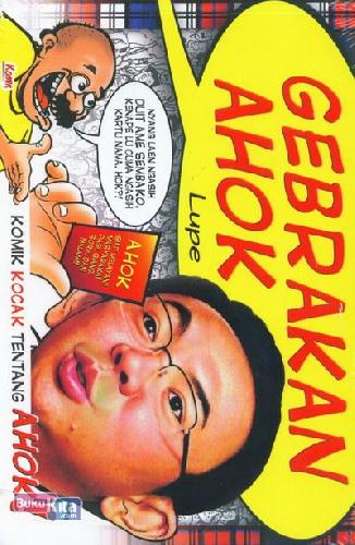Cover Buku Gebrakan AHOK