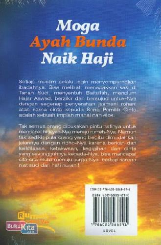 Cover Belakang Buku Moga Ayah Bunda Naik Haji
