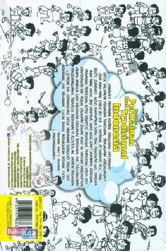Cover Belakang Buku Kumpulan Permainan Anak Tradisional Indonesia