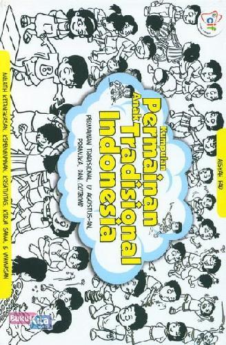 Cover Buku Kumpulan Permainan Anak Tradisional Indonesia