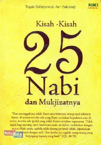 Cover Buku Kisah-Kisah 25 Nabi dan Mukjizatnya