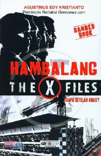 Cover Buku Hambalang The X Files