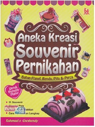Cover Buku Aneka Kreasi Sounvenir Pernikahan (Promo Best Book)