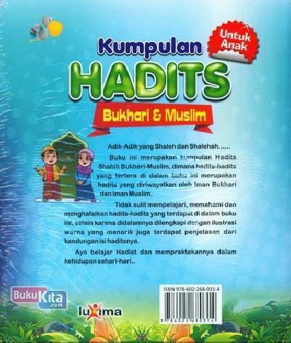 Cover Belakang Buku Kumpulan Hadits Bukhari & Muslim