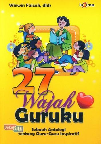 Cover Buku 27 Wajah Guruku