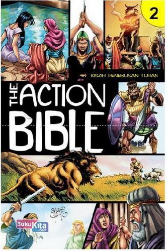 Cover Buku The Action Bible 2 (Kisah Penebusan Tuhan)