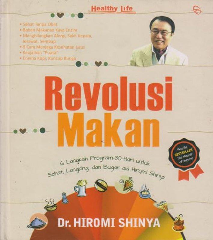 Cover Buku Revolusi Makan