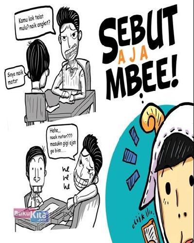 Cover Buku Sebut Saja Mbee