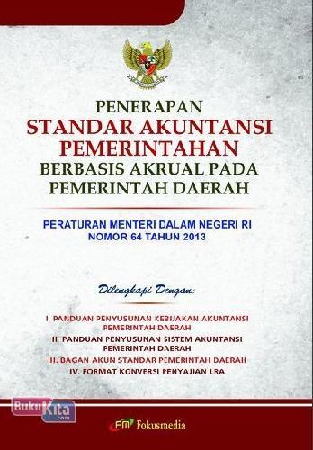 Cover Buku Penerapan Standar Akuntansi Pemerintah Berbasis Akrual Pada Pemerintah Daerah