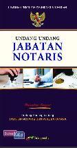 Undang-Undang Jabatan Notaris
