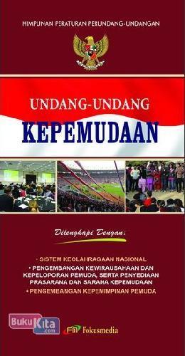 Cover Buku Undang-Undang Kepemudaan