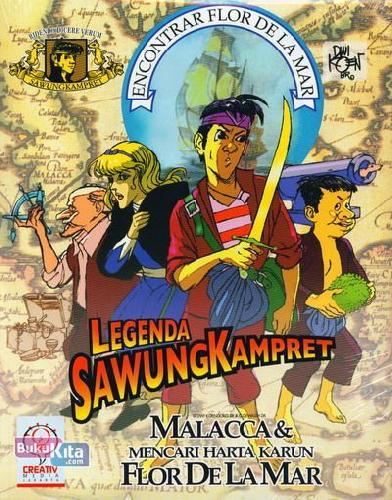 Cover Belakang Buku 14 Jurus Membuat Komik VER.02 + Legenda Sawung Kampret (PAKET)