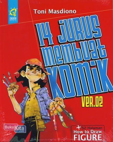 Cover Buku 14 Jurus Membuat Komik VER.02 + Legenda Sawung Kampret (PAKET)