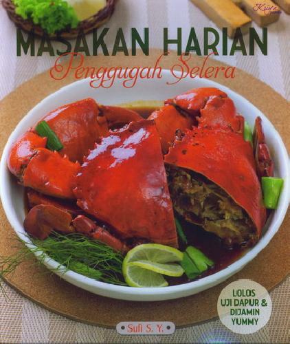 Cover Buku Masakan Harian Penggugah Selera