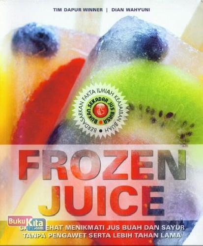 Cover Buku Frozen Juice