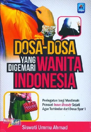 Cover Buku Dosa-Dosa yang Digemari Wanita Indonesia