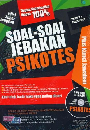 Cover Buku Soal-Soal Jebakan ikotes Edisi Super Lengkap