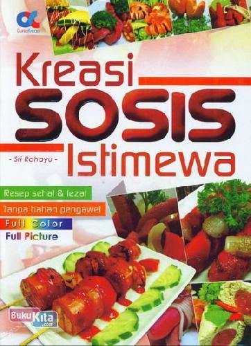 Cover Buku Kreasi Sosis Istimewa (Full Color+Full Picture)