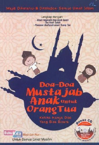 Cover Buku Doa-Doa Mustajab Anak Untuk Orang Tua