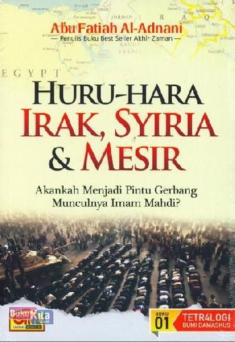 Cover Buku Huru-Hara Irak, Syiria dan Mesir