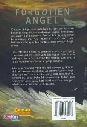 Cover Belakang Buku Forgotten Angel