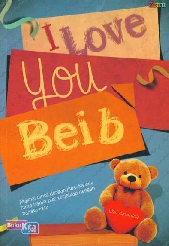 Cover Buku I Love You Beib