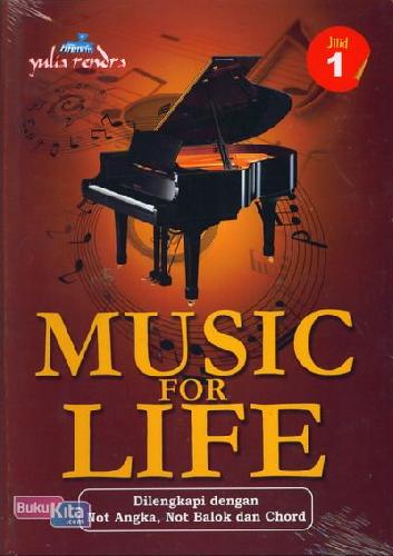 Cover Buku Music For Life Jilid 1