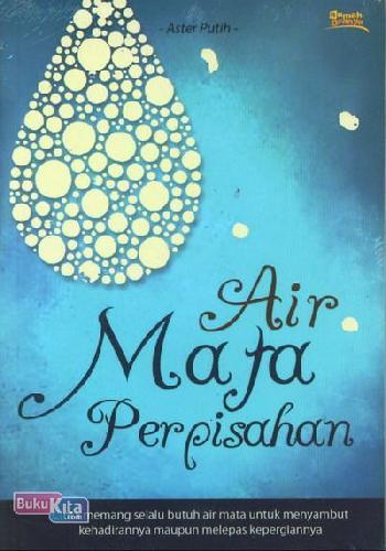 Cover Buku Air Mata Perpisahan