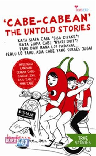 Cover Buku Cabe-cabean The Untold Stories