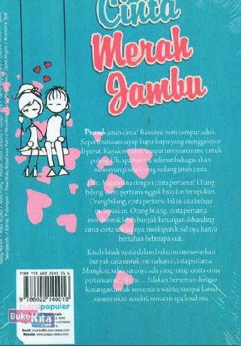Cover Belakang Buku Cinta Merah Jambu