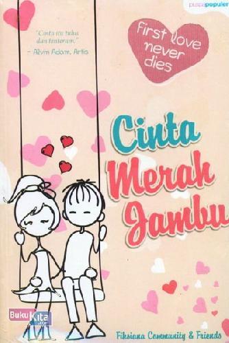 Cover Buku Cinta Merah Jambu