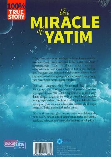 Cover Belakang Buku The Miracle of Yatim
