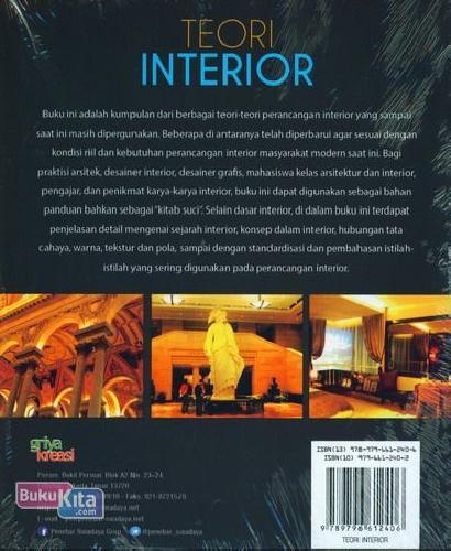 Cover Belakang Buku Teori Interior