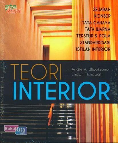 Cover Buku Teori Interior
