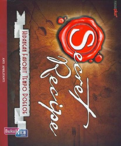 Cover Buku Secret Recipe Hidangan Favorit Tempo Doeloe