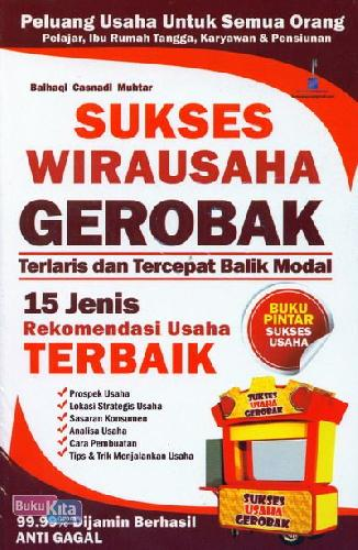 Cover Buku Sukses Wirausaha Gerobak