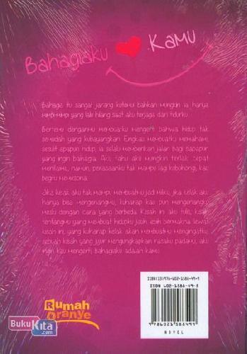 Cover Belakang Buku Bahagiaku Kamu