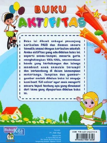 Cover Belakang Buku Buku Aktifitas Penunjang PAUD (Full Color)