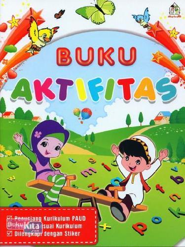 Cover Buku Buku Aktifitas Penunjang PAUD (Full Color)