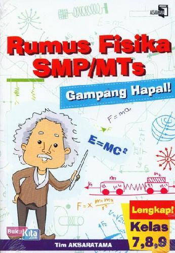 Cover Buku Rumus Fisika SMP/MTs Gampang Hapal