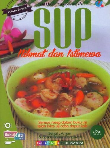Cover Buku Sup Nikmat dan Istimewa (Full Color+Full Picture)