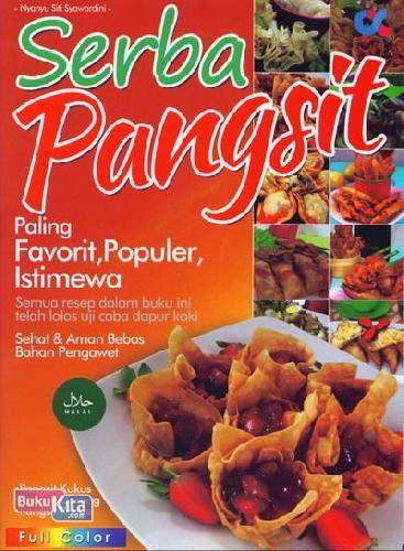Cover Buku Serba Pangsit Paling Favorit, Populer, Istimewa