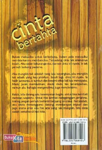 Cover Belakang Buku Cinta Bertahta