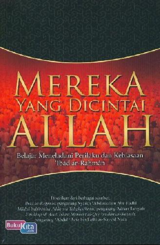 Cover Buku Mereka Yang Dicintai Allah