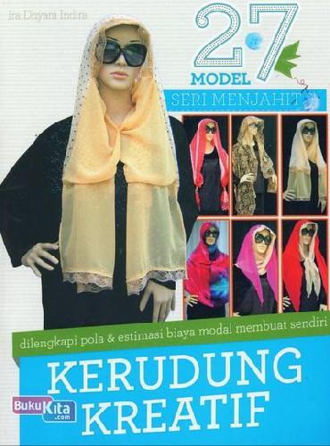 Cover Buku 27 Model Seri Menjahit Kerudung Kreatif