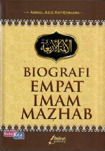 Cover Buku Biografi Empat Imam Mazhab